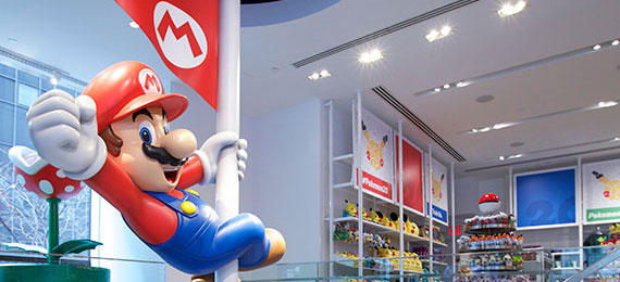 Nintendo New York interior view