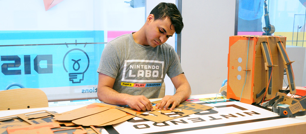 Welcome to Nintendo NY!