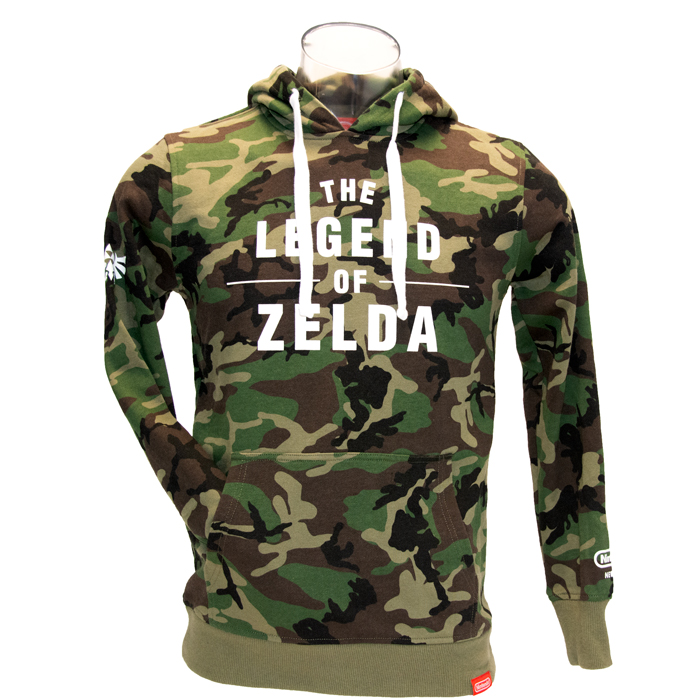 The Legend of Zelda Camo Hoodie