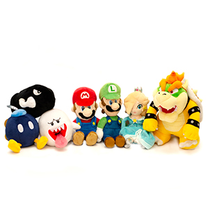 Assorted Super Mario Plush