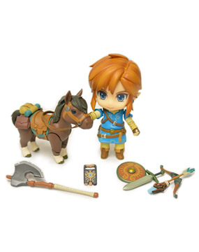 Link Breath of the Wild Nendoroid