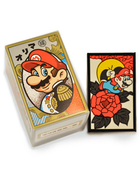 Super Mario Hanafuda Cards