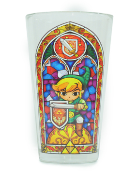 Glass Tumbler featuring Link