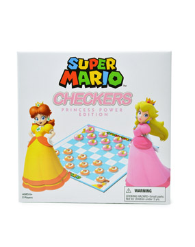 Super Mario Checkers - Princess Power Edition