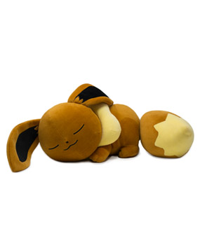 Sleeping Eevee Poké Plush